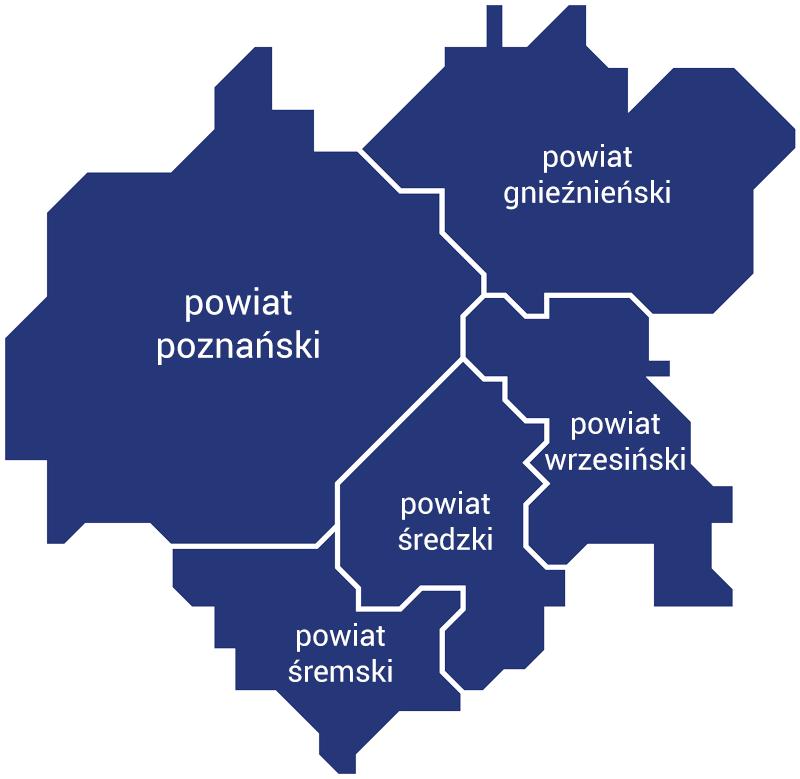 Mapa okręgu