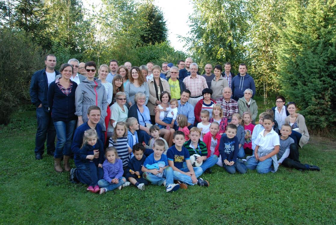 Impreza 10-lecie slubu Zofi i Michala Oweckich, IX 2012