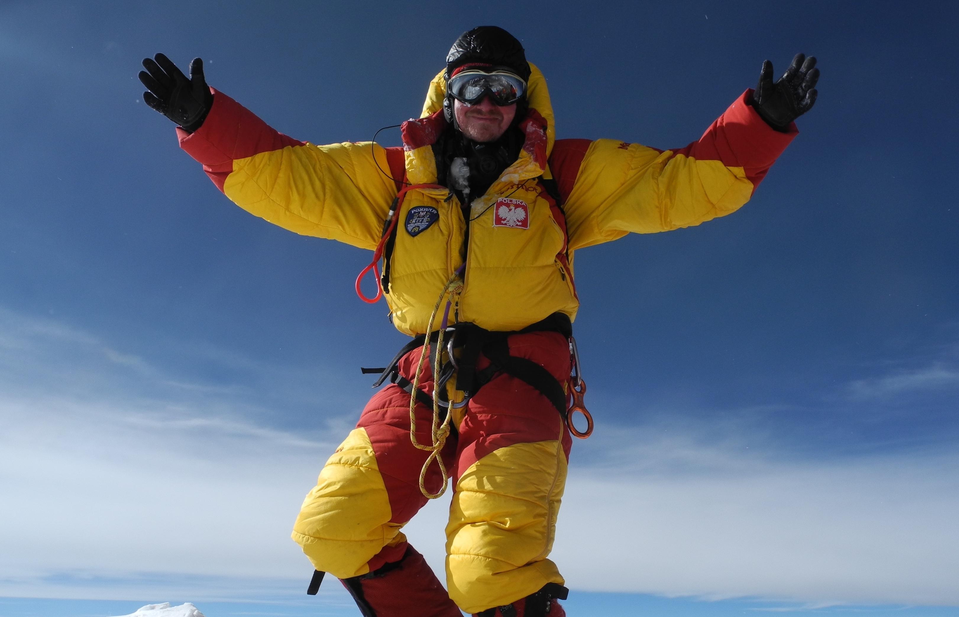 Na szczycie Everestu, 25.V.14, fot.ArchiwumB.Wroblewski III