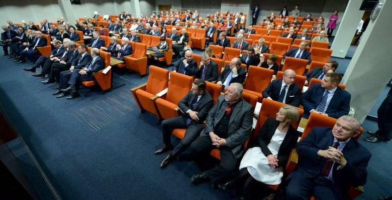 Sesja inauguracyjna Sejmiku Wielkopolskiego, 1 XII 2015 r.